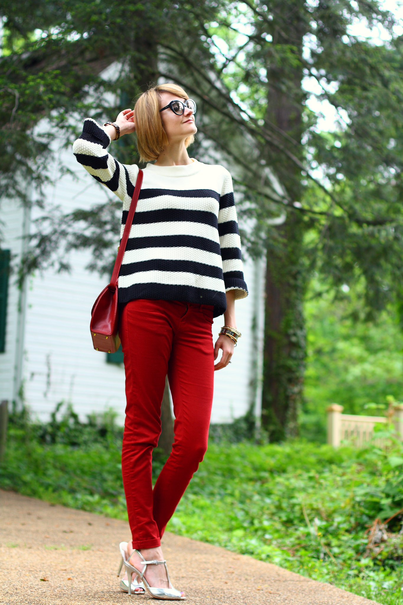 Jigsaw London striped sweater