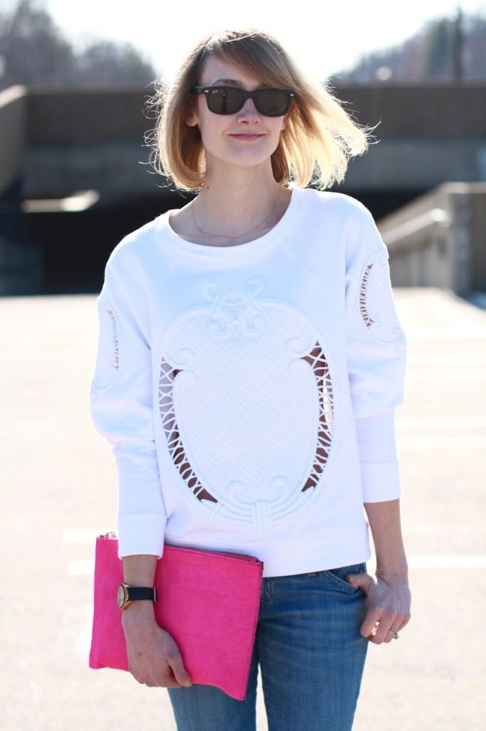 Zara sweatshirt