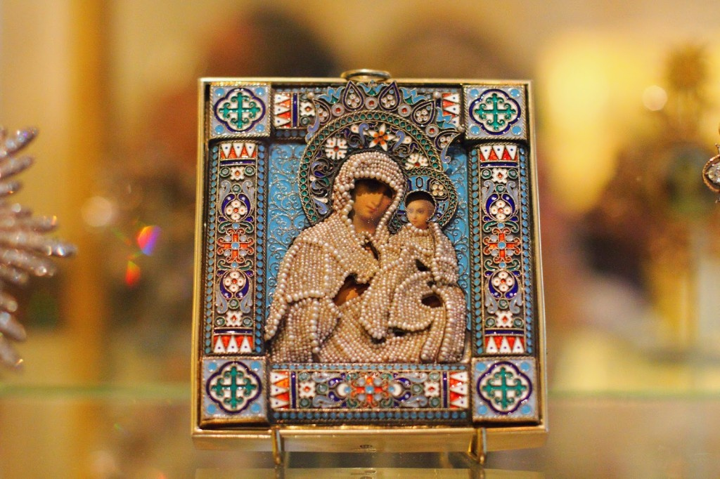 Russian icons at Hillwood Estate