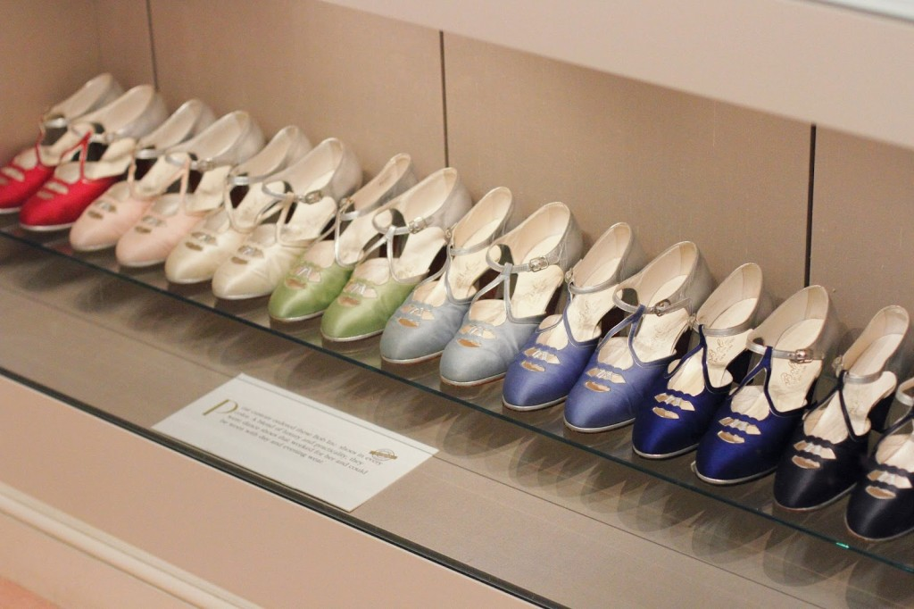 Marjorie Post's shoe collection at Hillwood