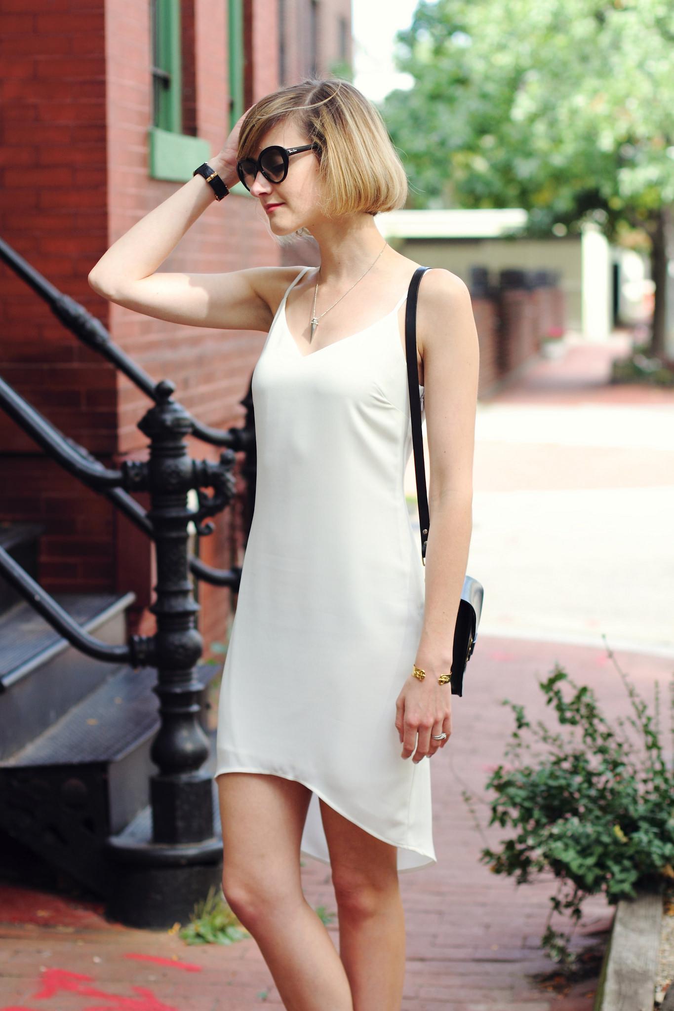 Oasis slip dress