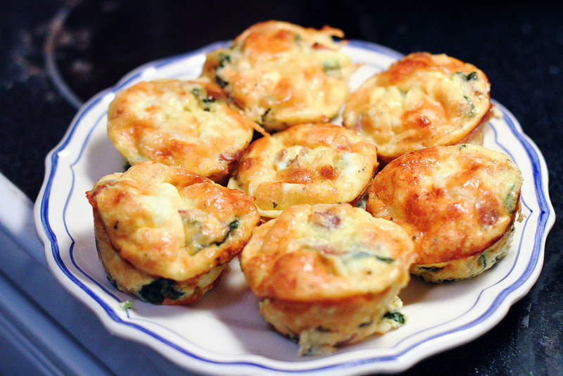 Sunday Brunch Mini Italian Frittatas