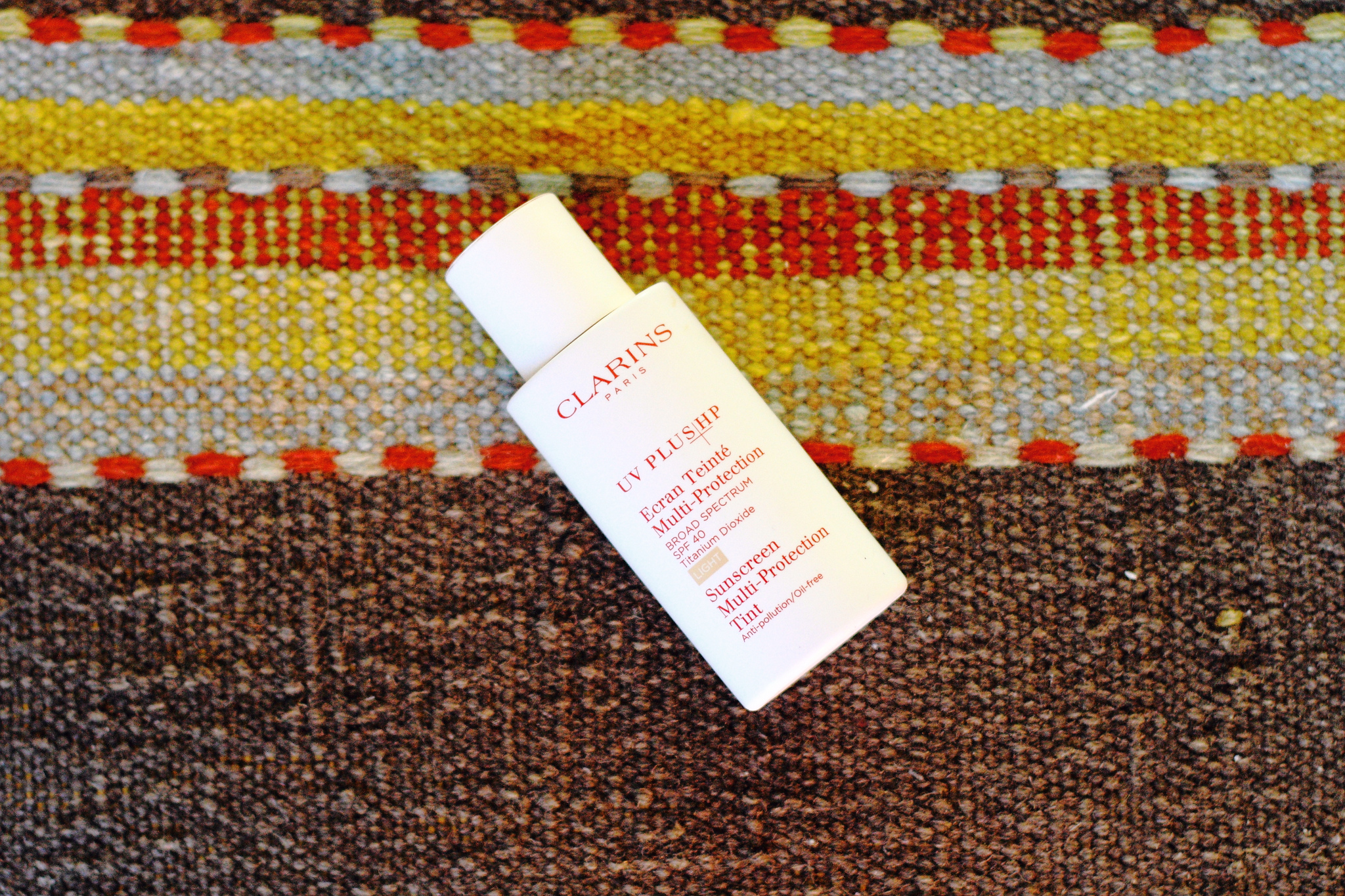 Clarins tinted sunscreen