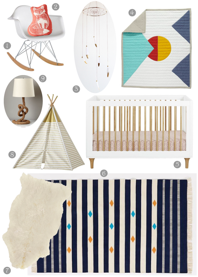Southwestern-Inspired Nursery Design