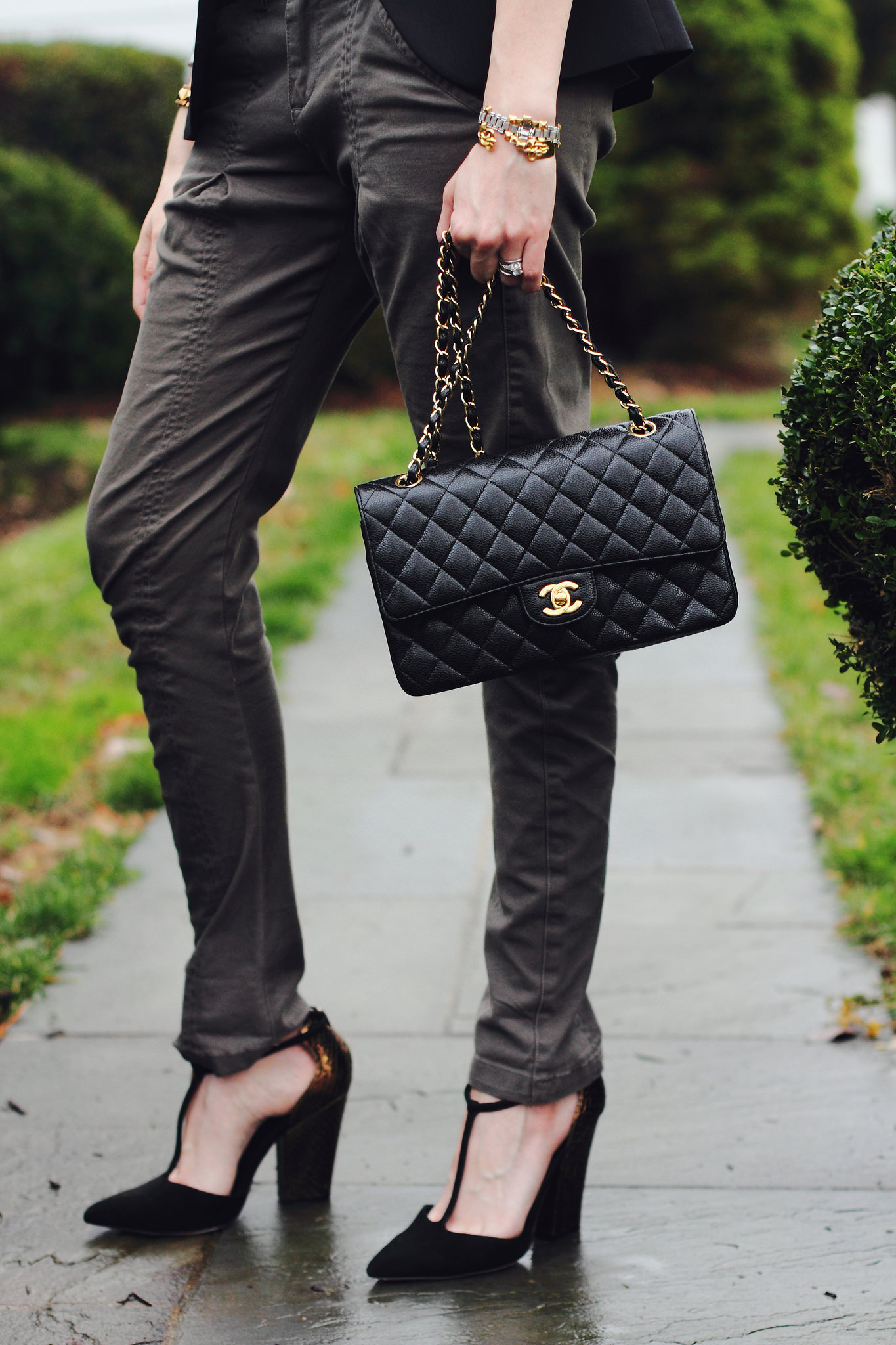 Zara blazer, Mango pants and Reiss shoes