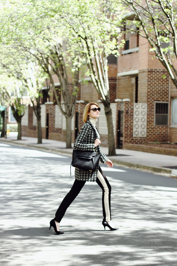 District of Chic contrast stripe pants