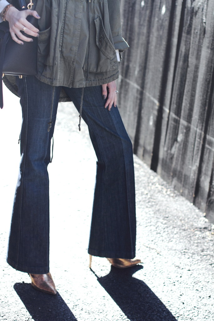 District of Chic tailored denim