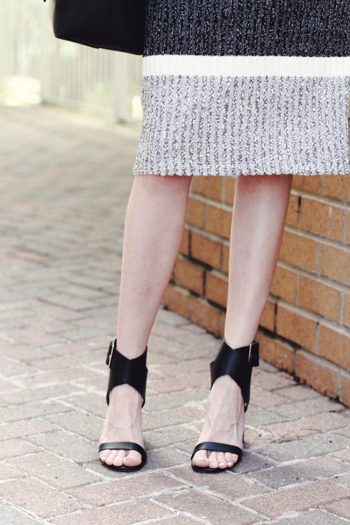 Zara wrap sandals