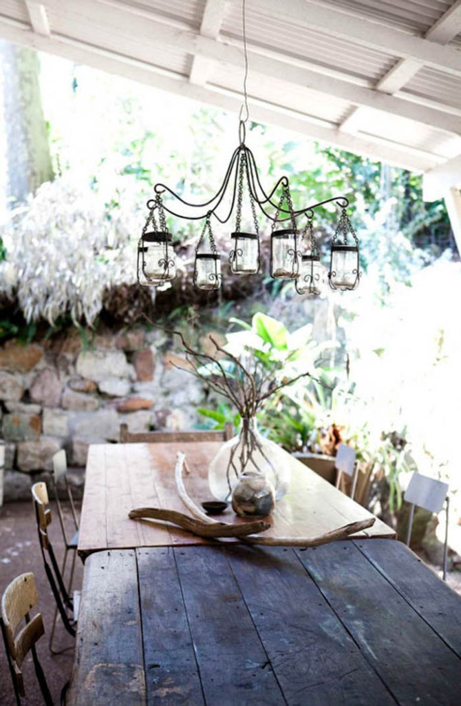 porch chandelier