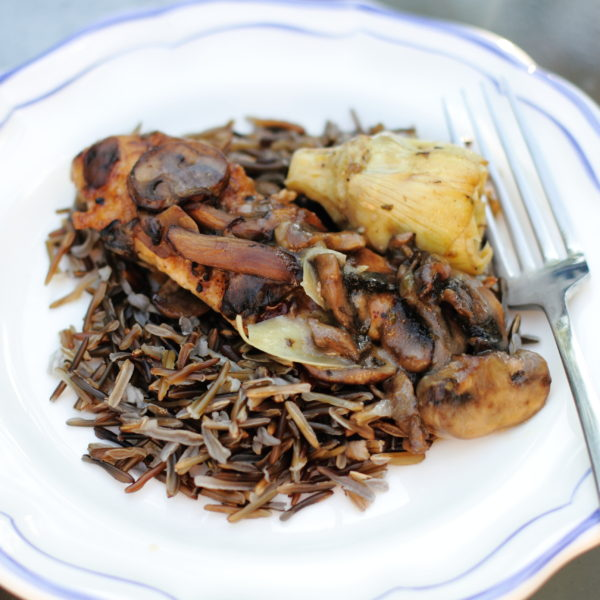 """Opulent"" Chicken with Wild Rice"