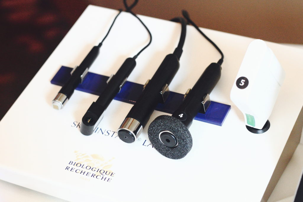 a high tech facial at the Mandarin Oriental with Biologique