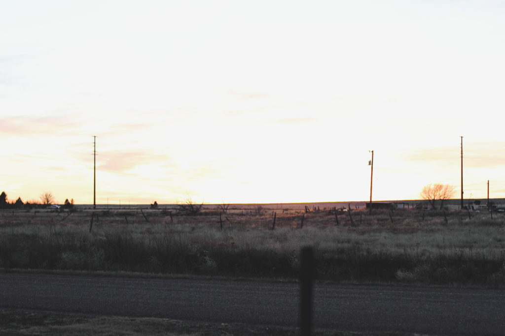 Roswell, New Mexico sunset