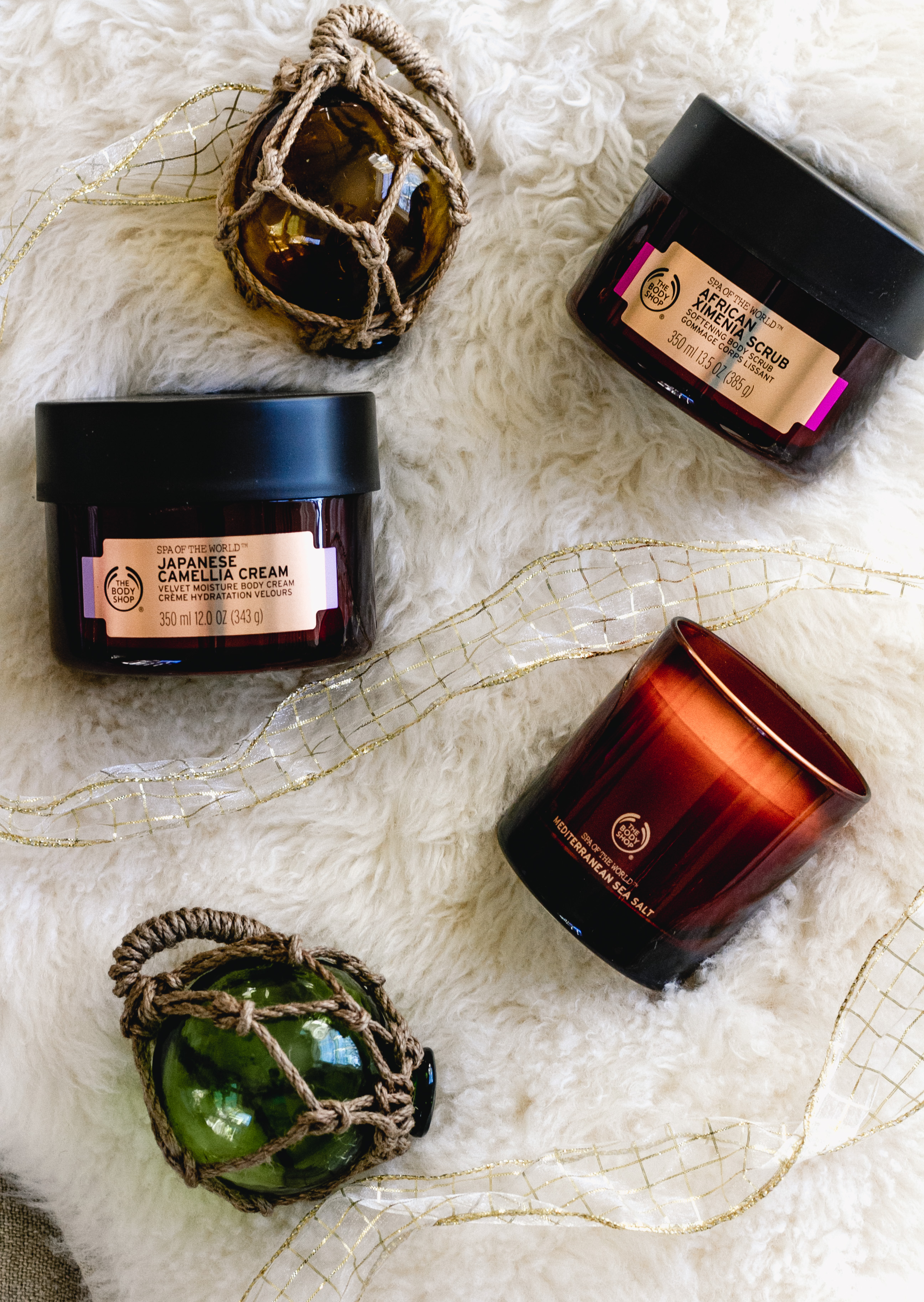 The Body Shop Spa Of The World Relaxing Body Collection