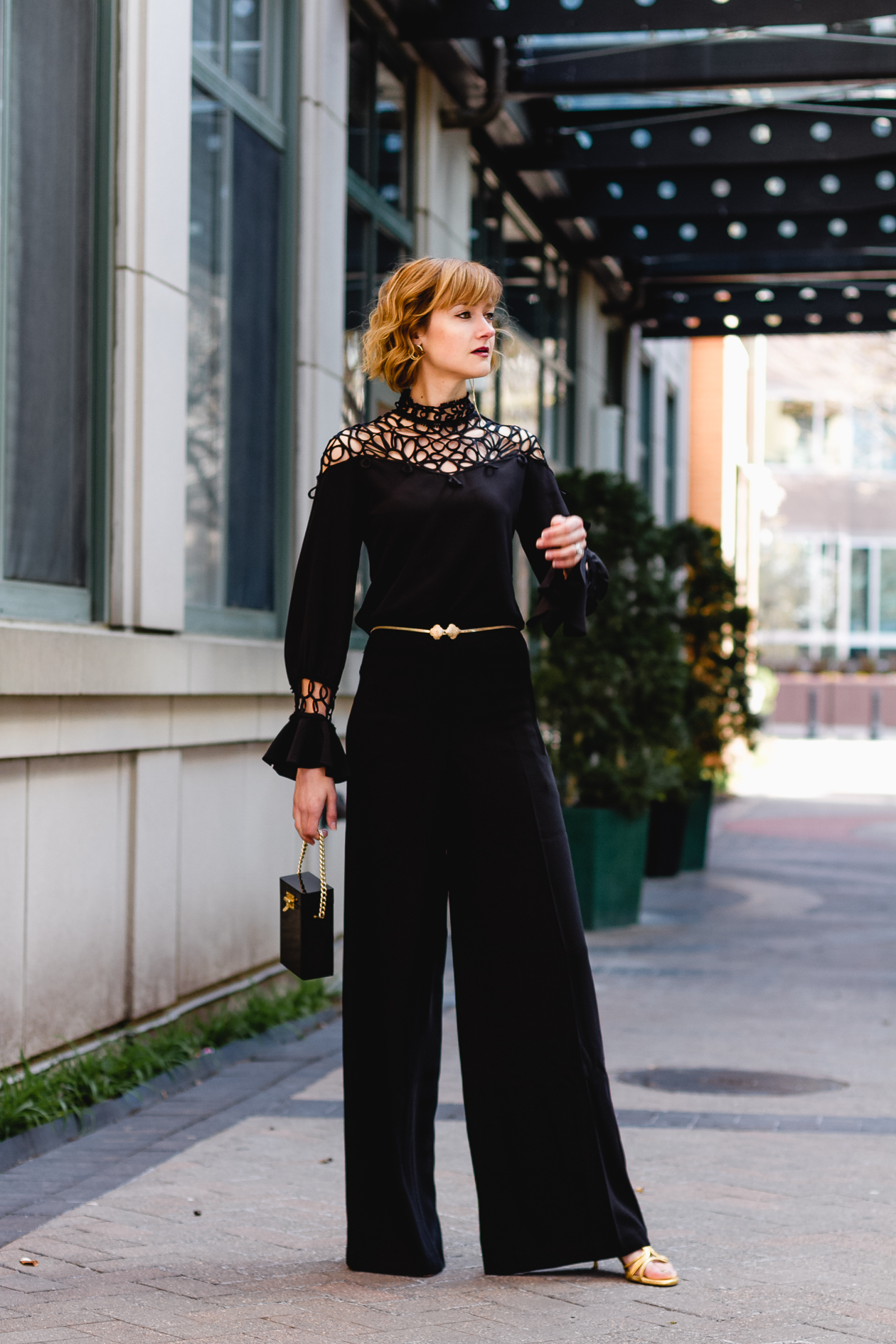 Anne Fontaine Adeline top and Morgan pants