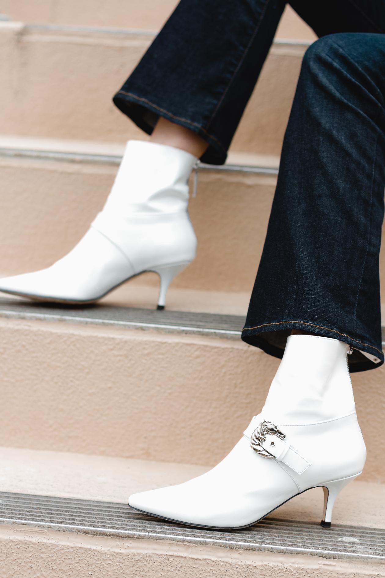Frame jeans and Dorasteymur boots