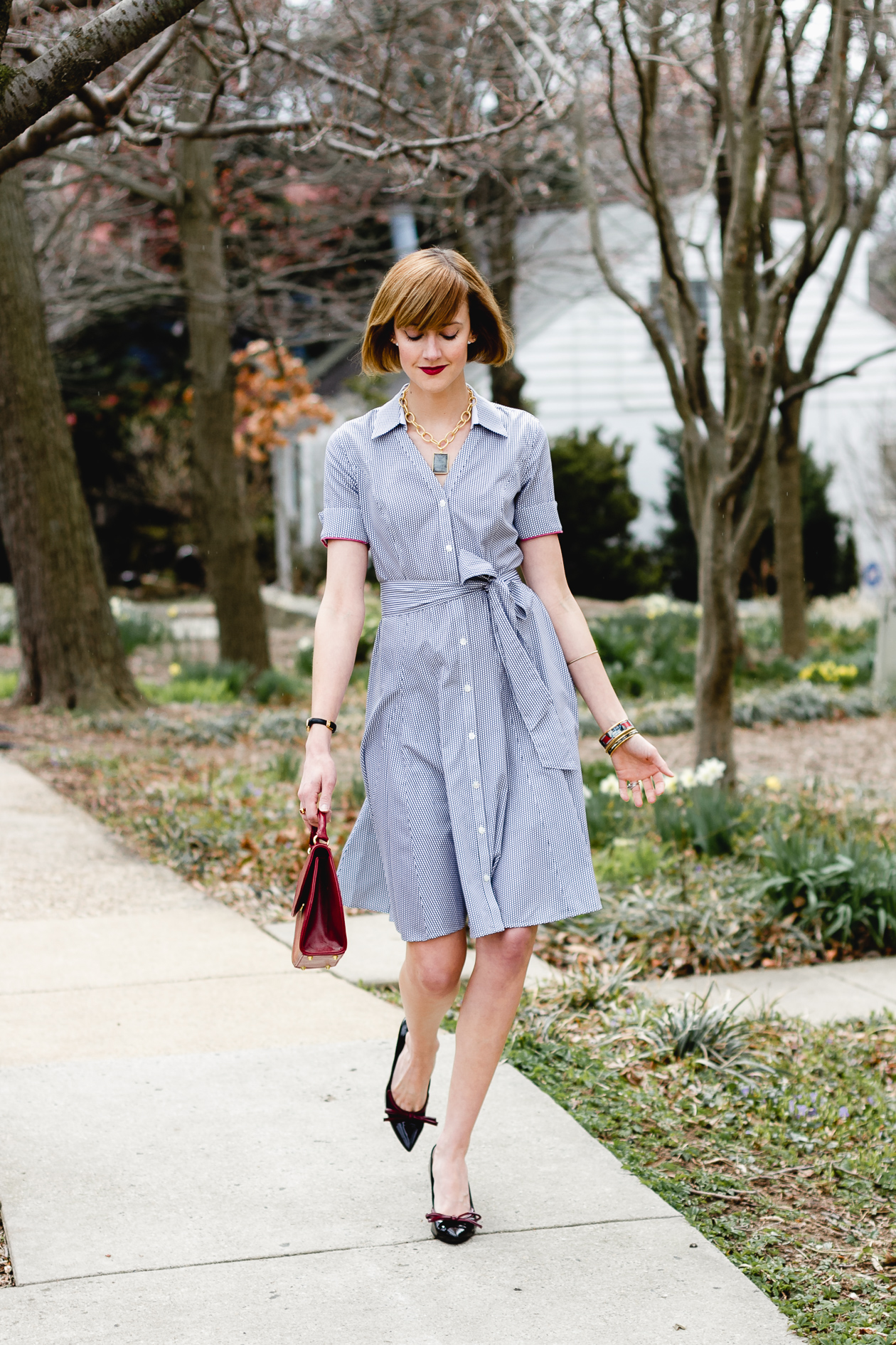 Brooks Brothers shirt dress
