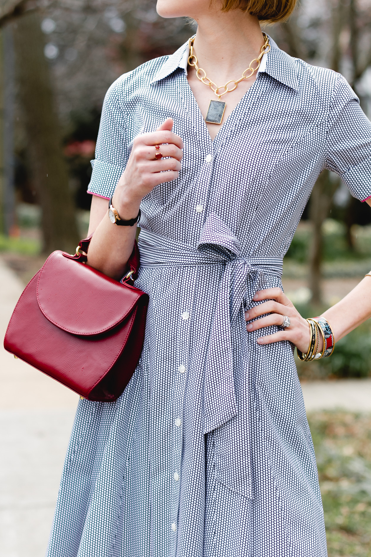 A Timeless Shirt Dress From Brooks Brothers District Of Chic