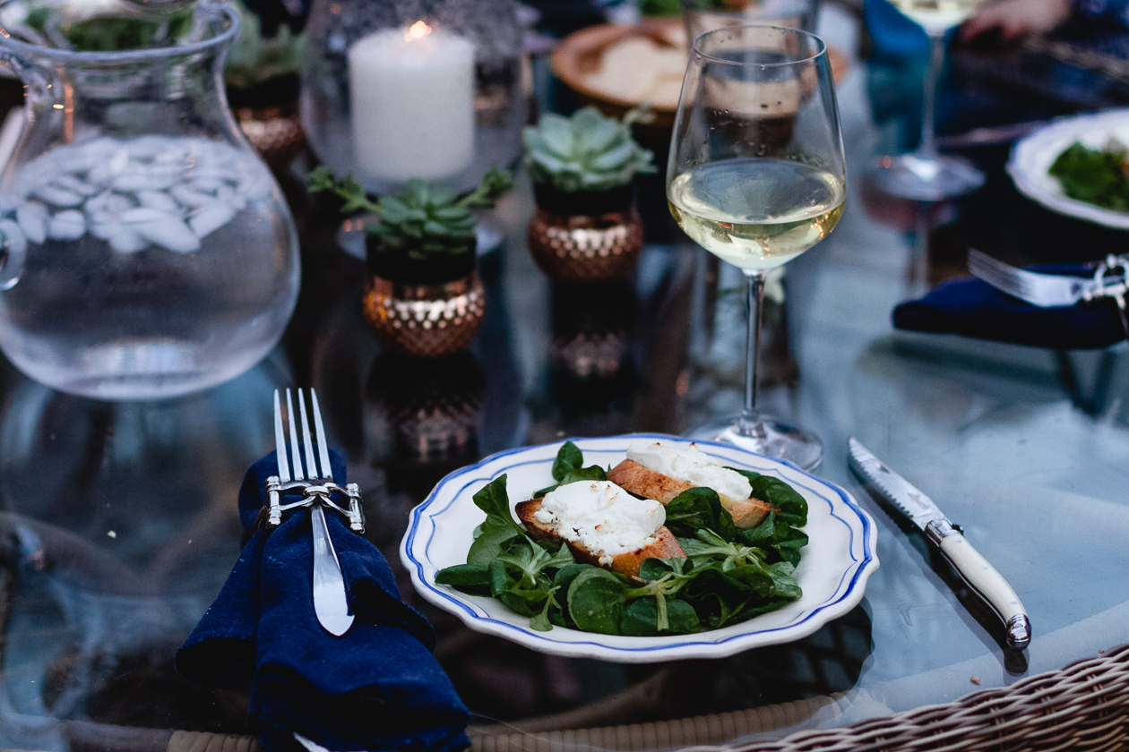 Chèvre Chaud Salad
