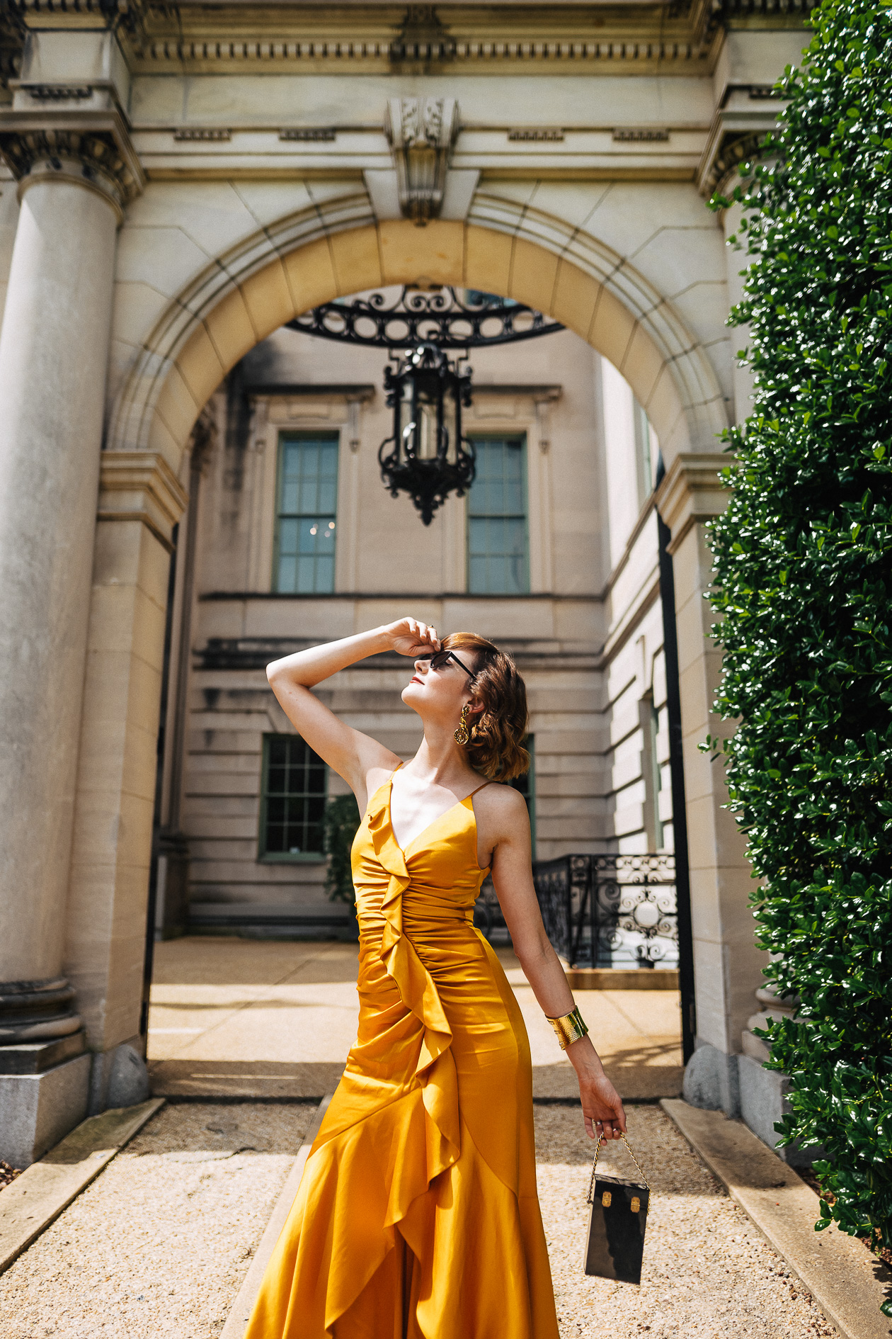 Jonathan Simkhai yellow dress