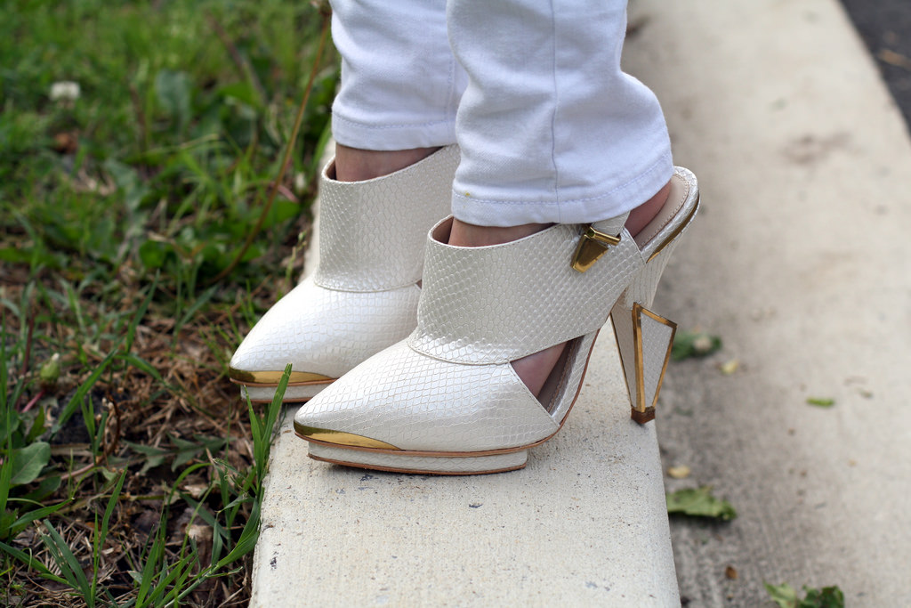 white topshop shoes