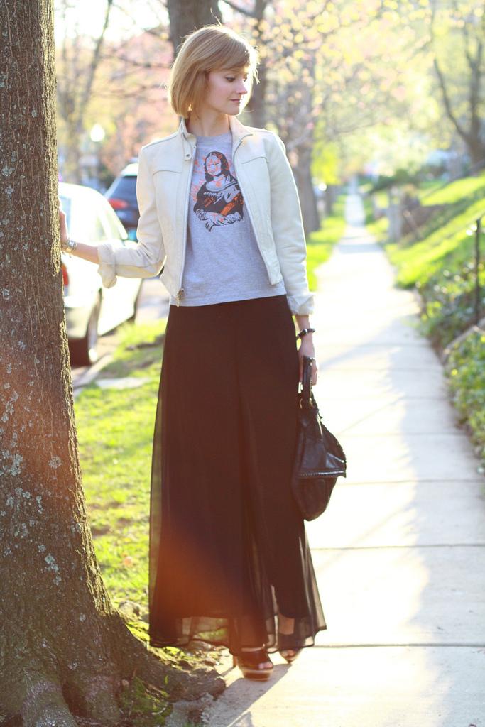 Threadless t-shirt and Modcloth pants