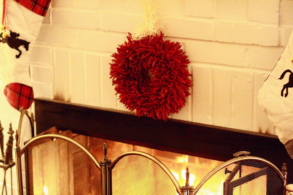 New Mexico chile wreath