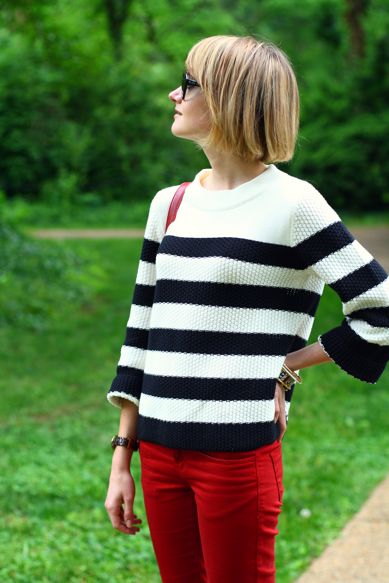 Jigsaw London striped sweater