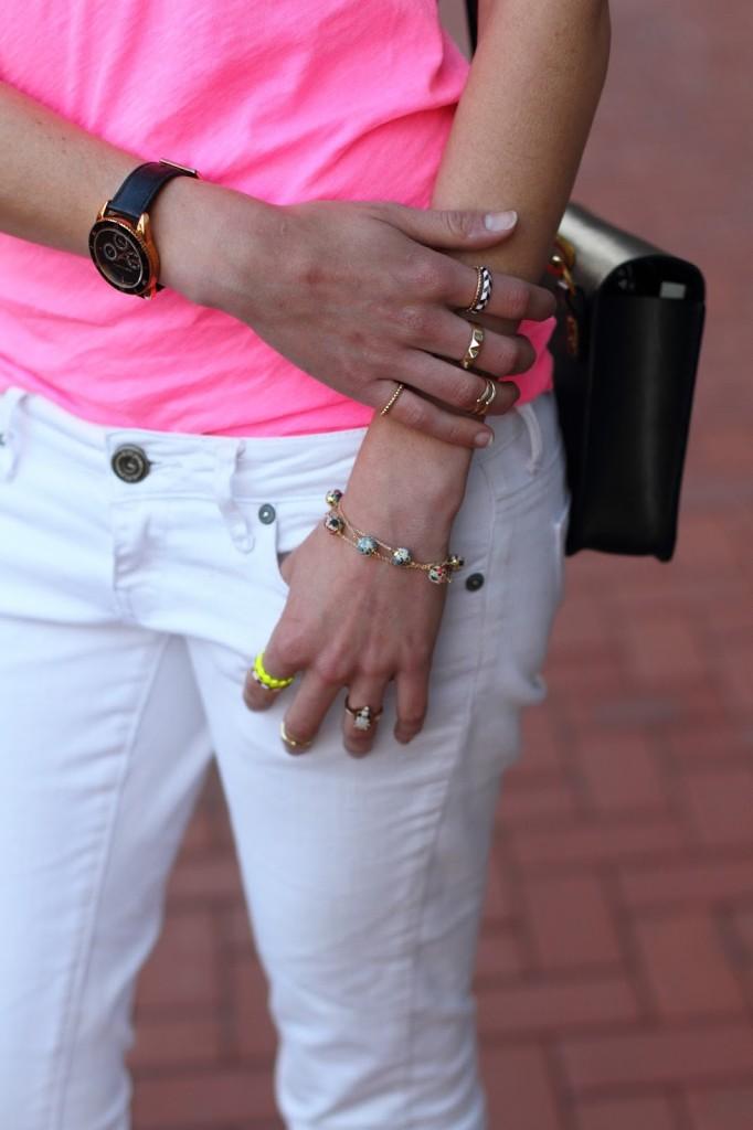 Dorus Mhor bracelet and mixed rings