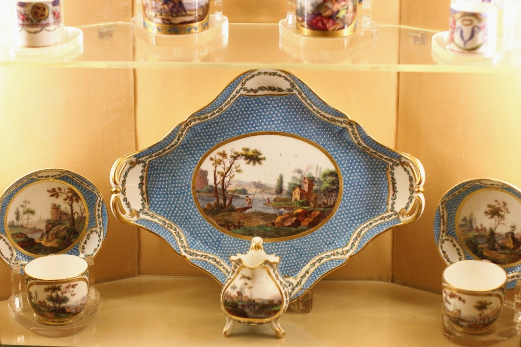 china collection at Hillwood Estate and Gardens