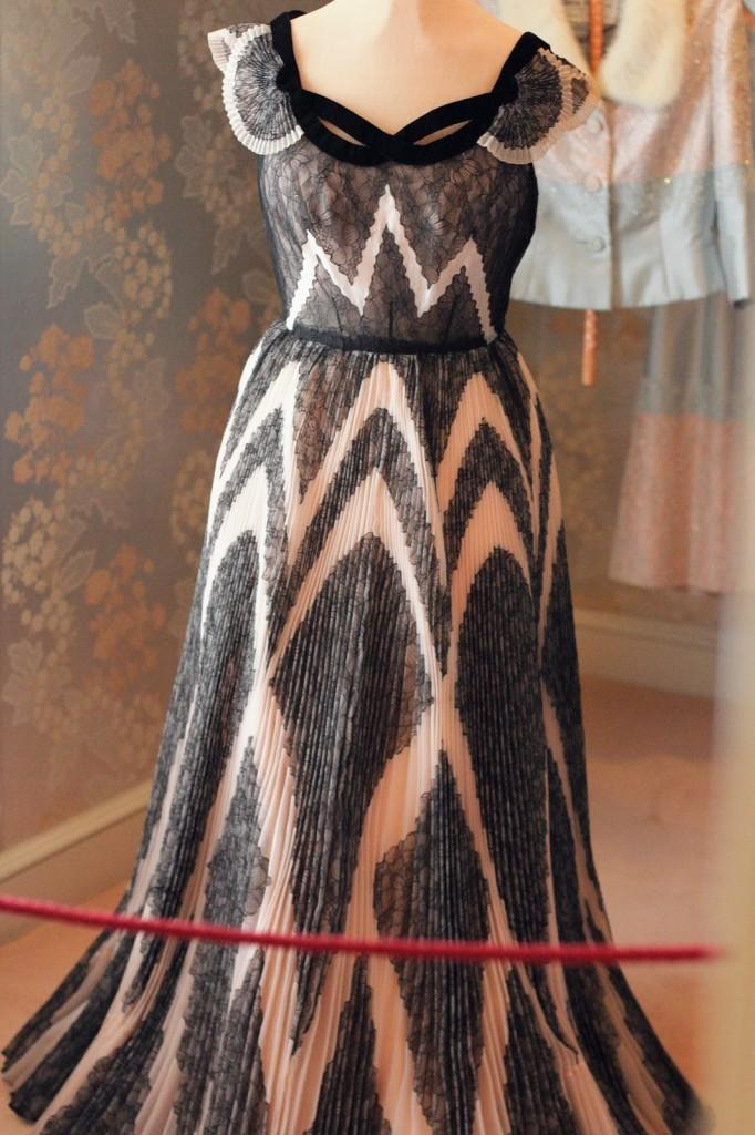 Marjorie Post's evening gown