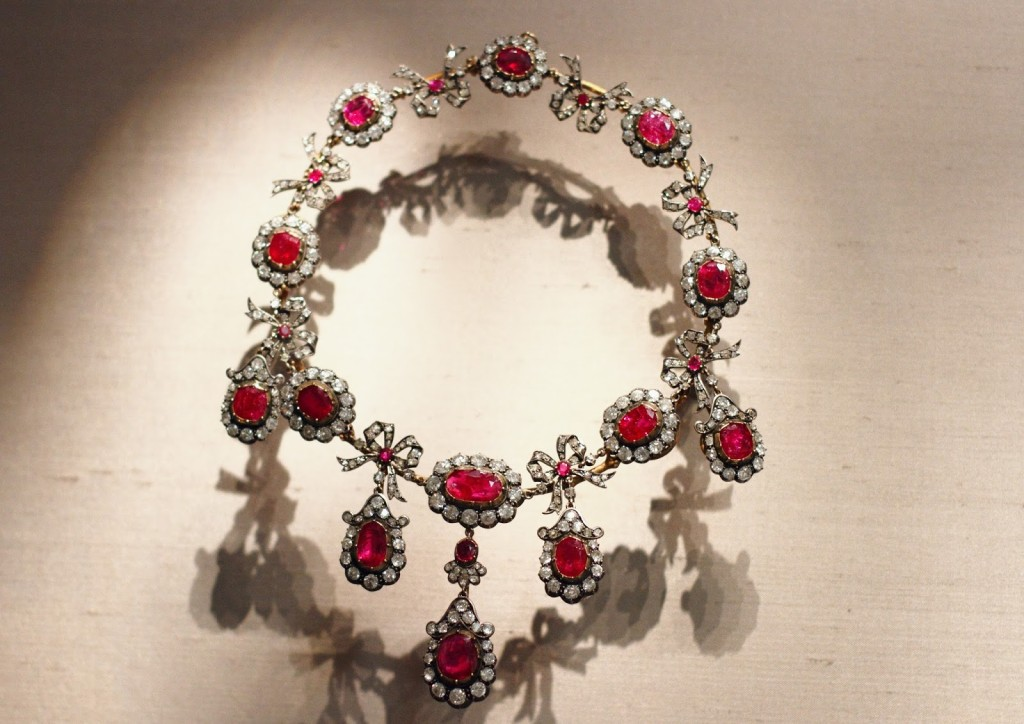 Marjorie Post's jewelry at Hillwood