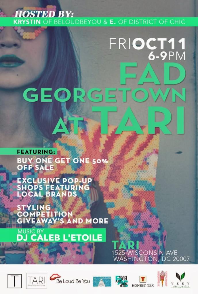 FAD Georgetown at Tari DC