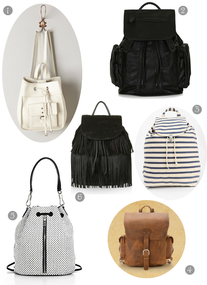 District of Chic backpack shopping