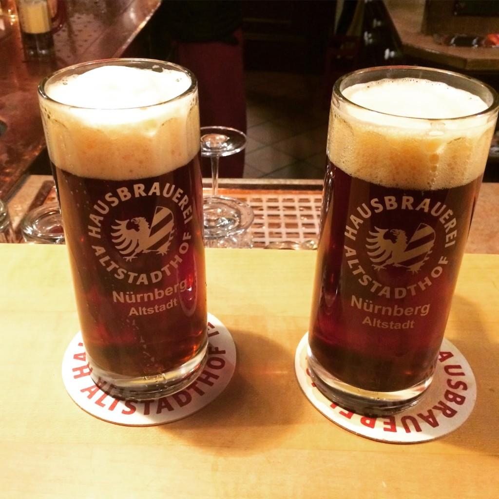 Craft Brewery Altstadthof, Nuremberg, Germany