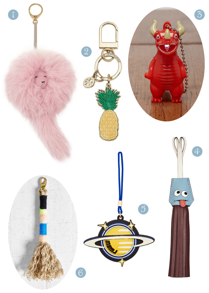 District of Chic: bag charms