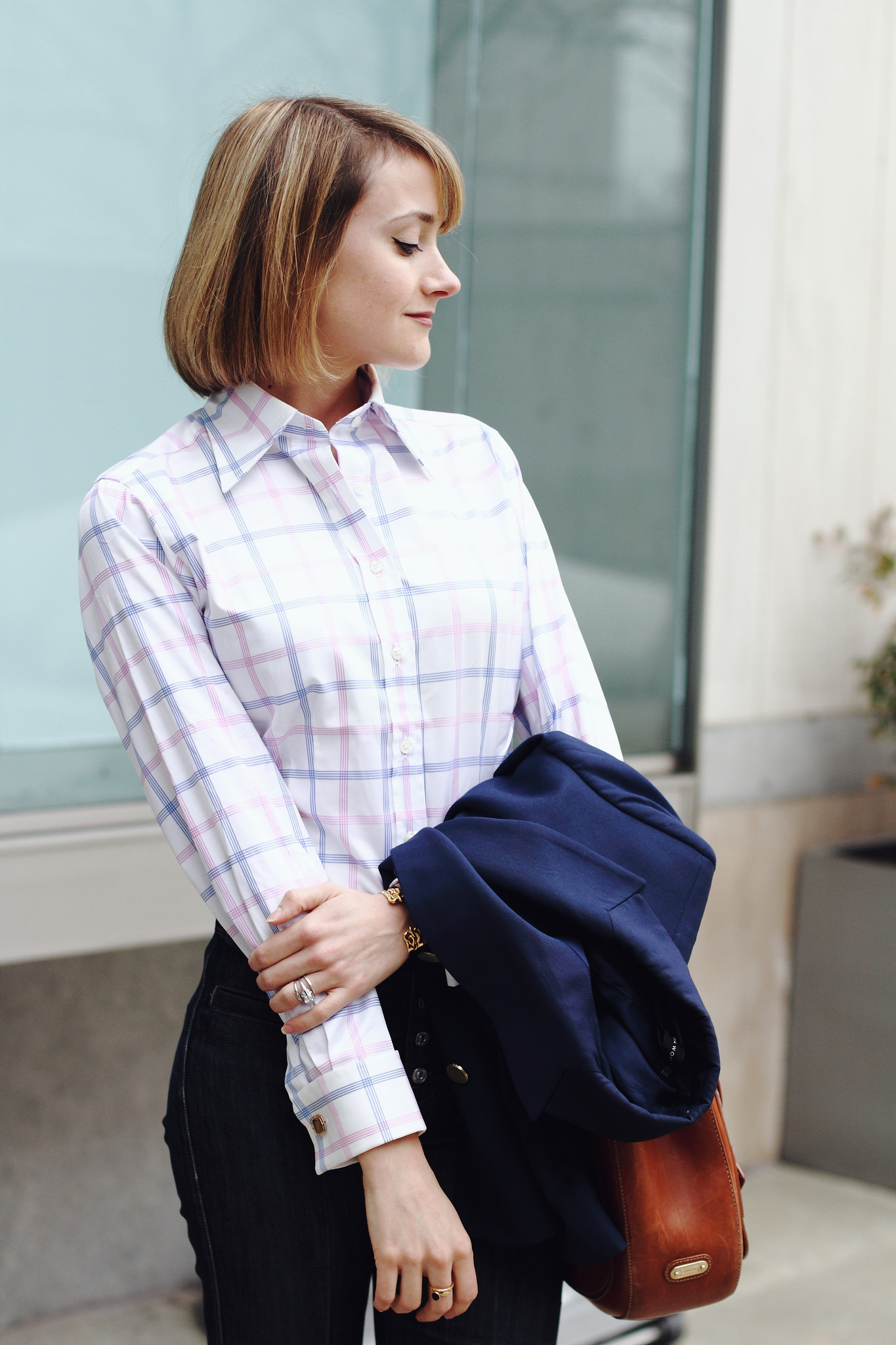 french cuff button-down
