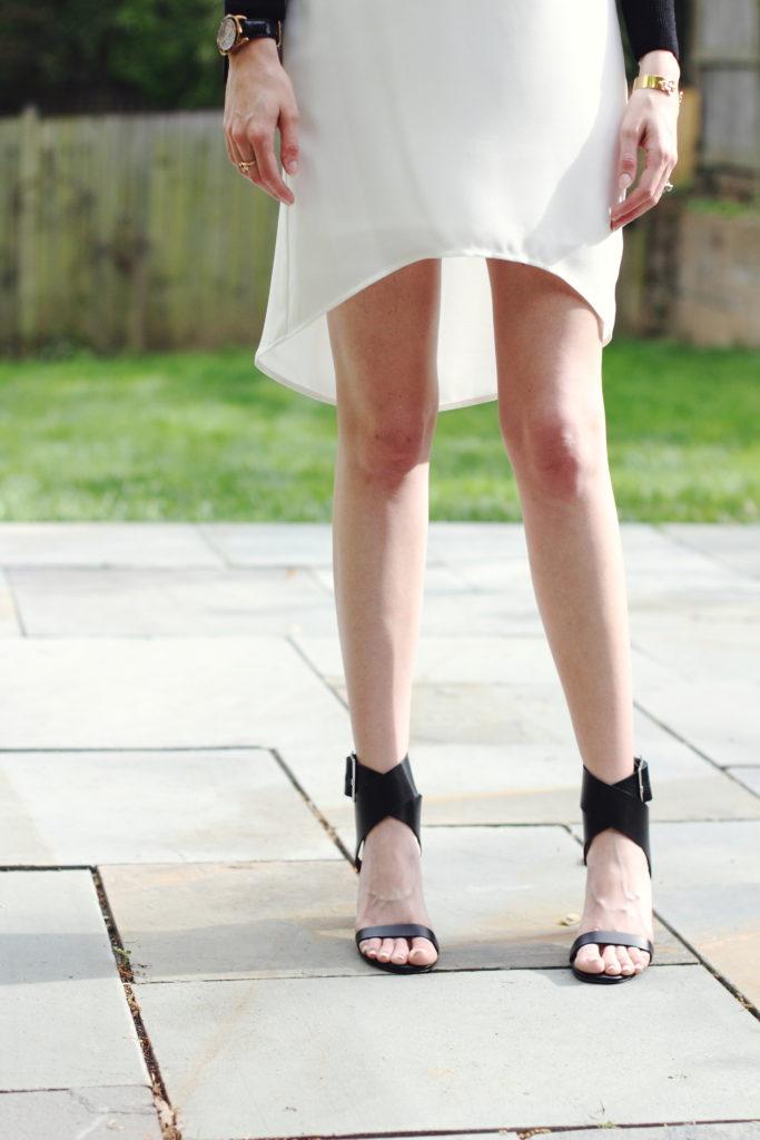 Zara cross front sandals