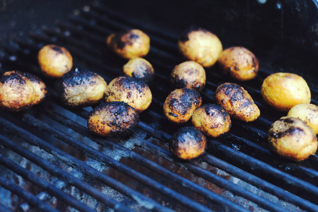 Spicy Grilled Potatatoes