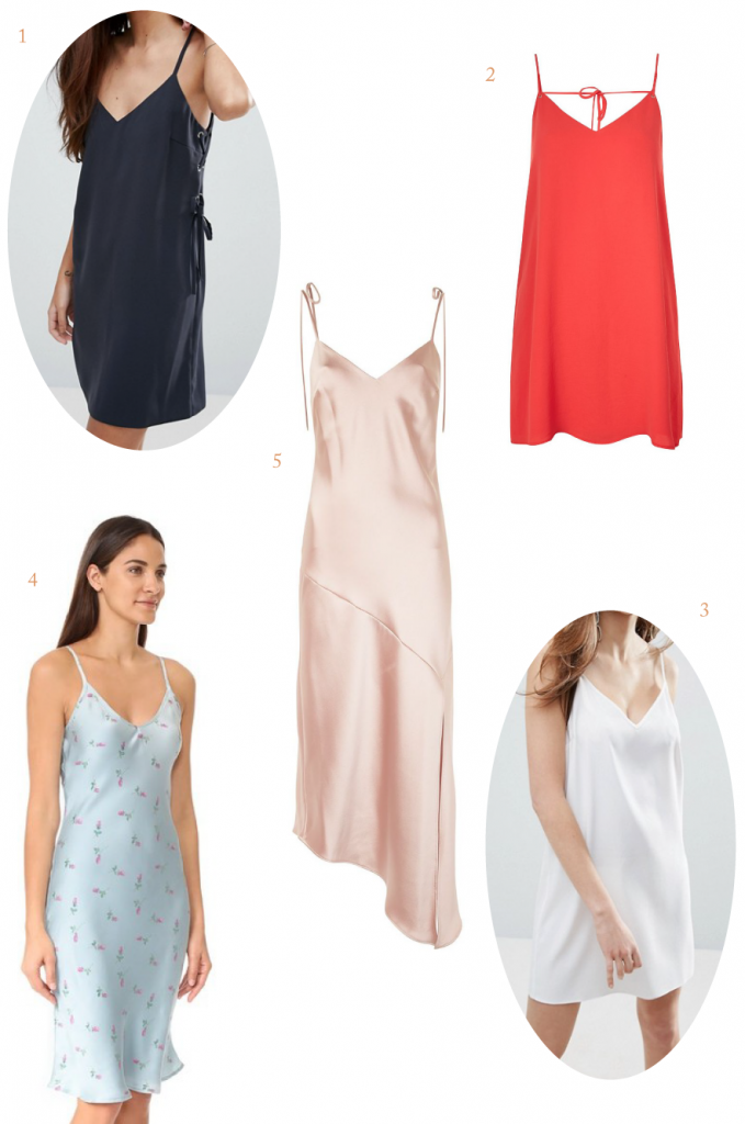 top slip dress picks from Topshop, Shopbop, and more!