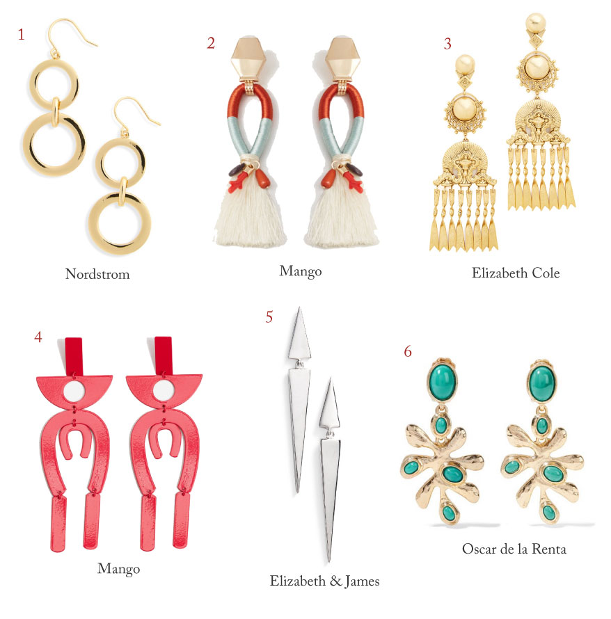 District of Chic statement earrings