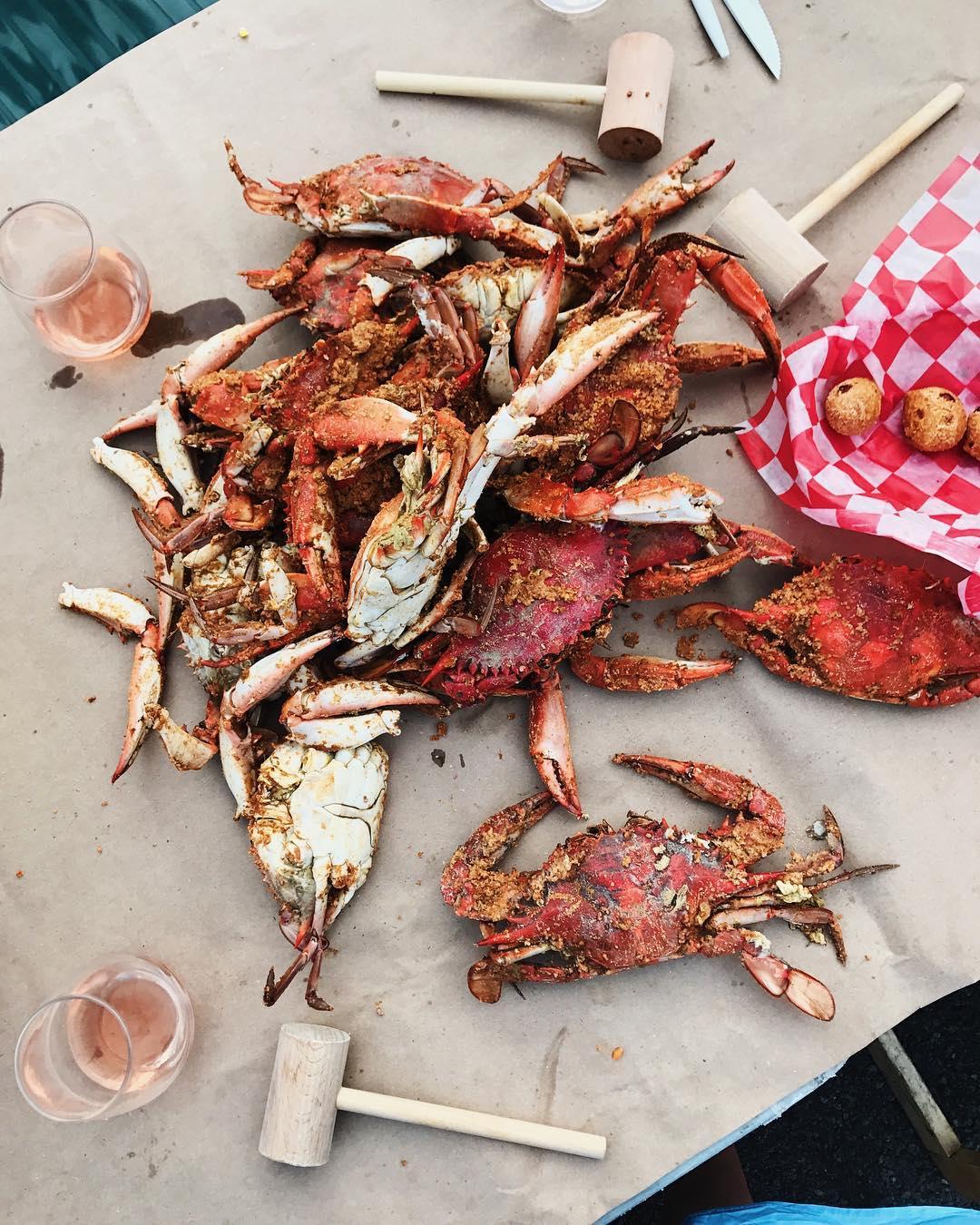 Quarterdeck Maryland crabs