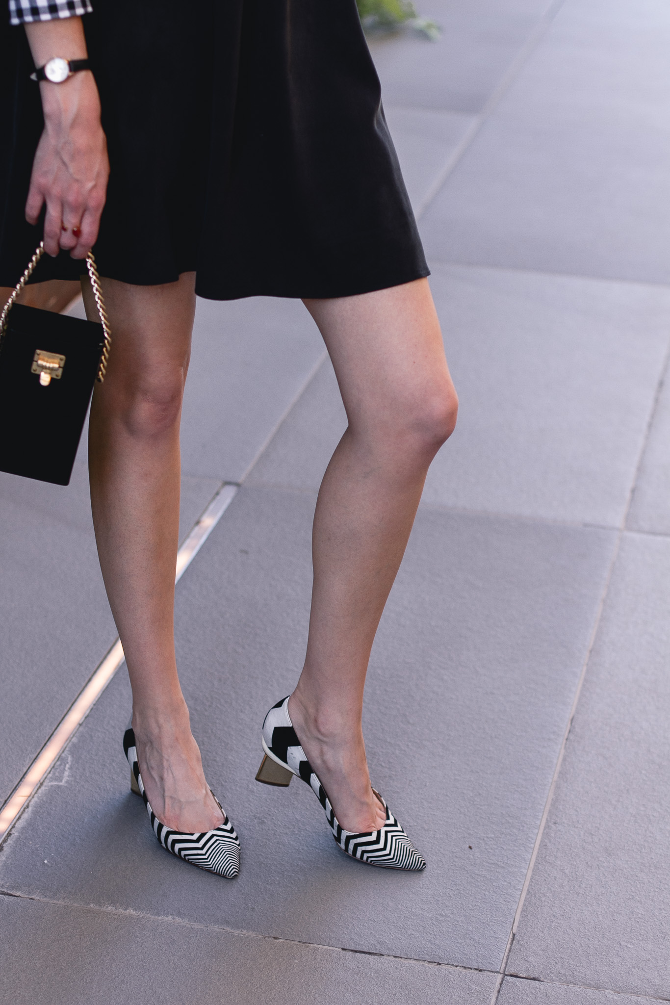 vintage evening bag and Nicholas Kirkwood heels