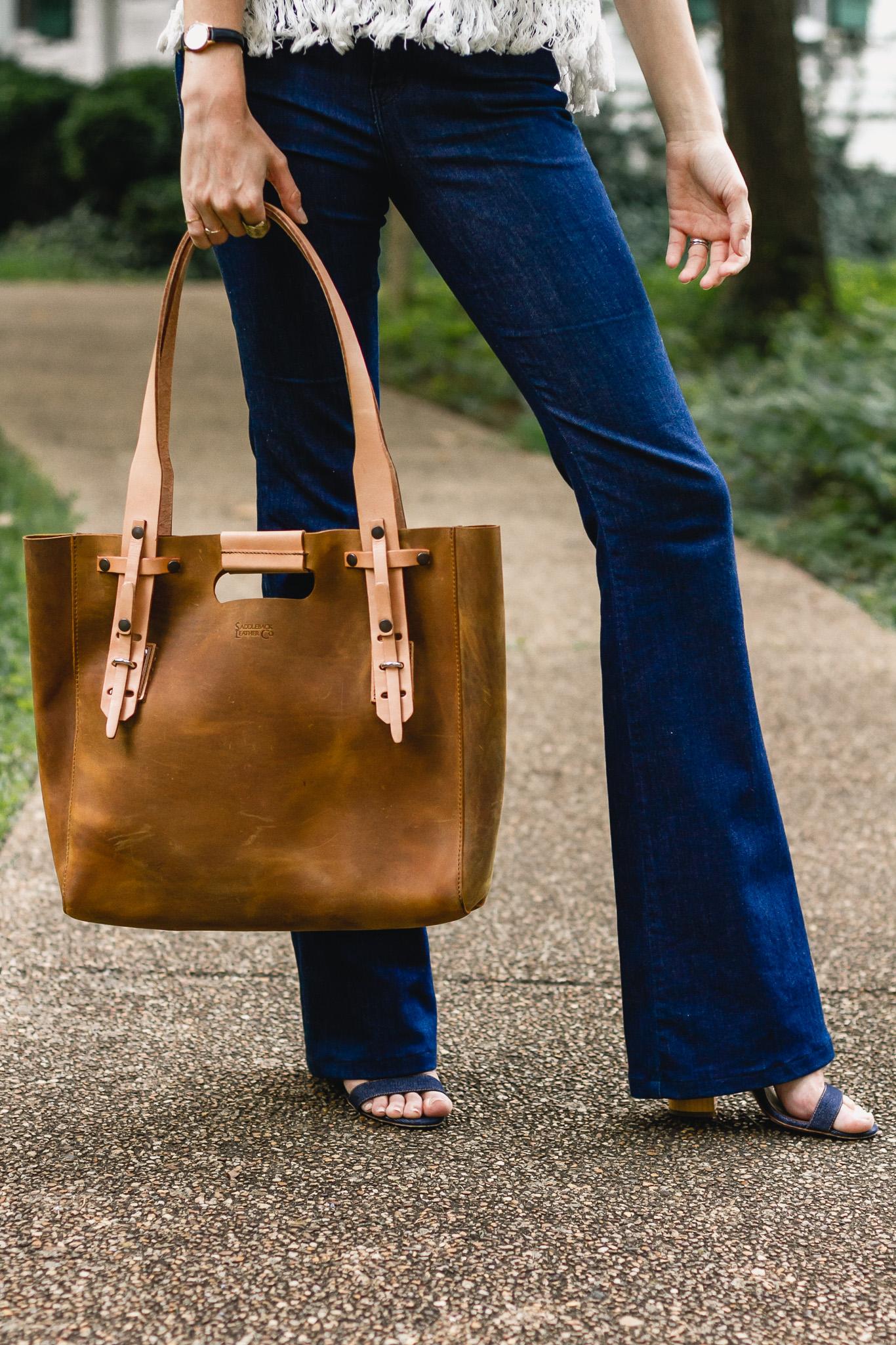 Saddleback Leather everyday tote