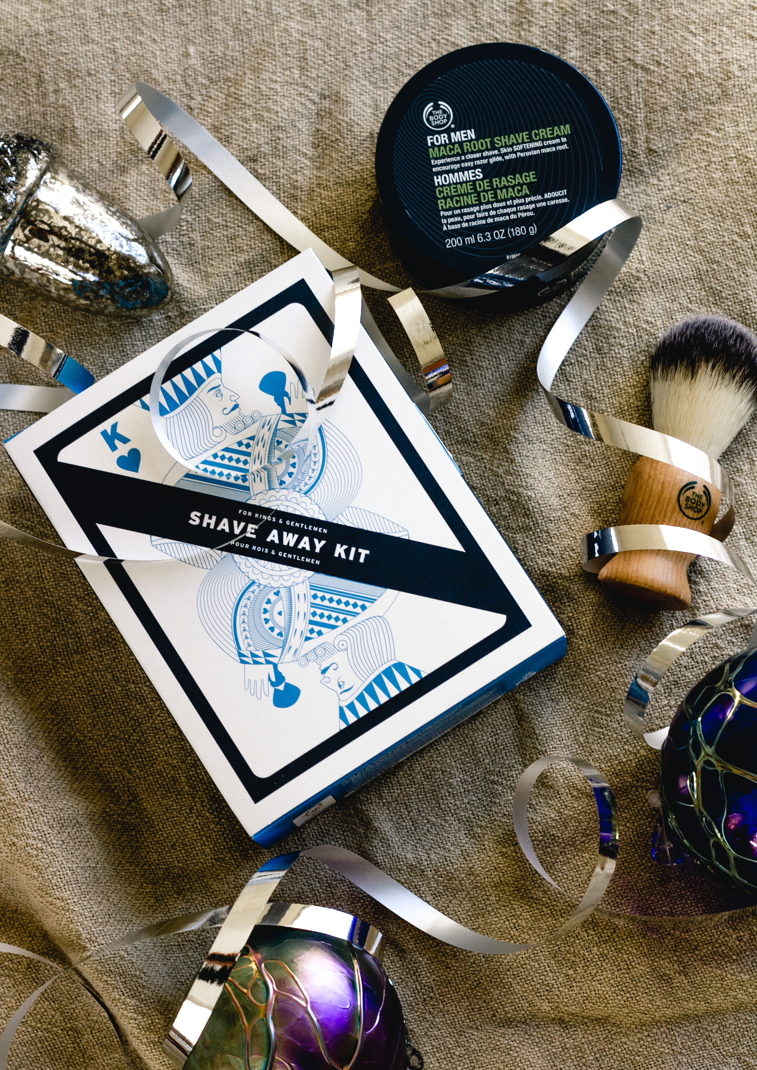 The Body Shop Shave Away Kit For Kings And Gentlemen