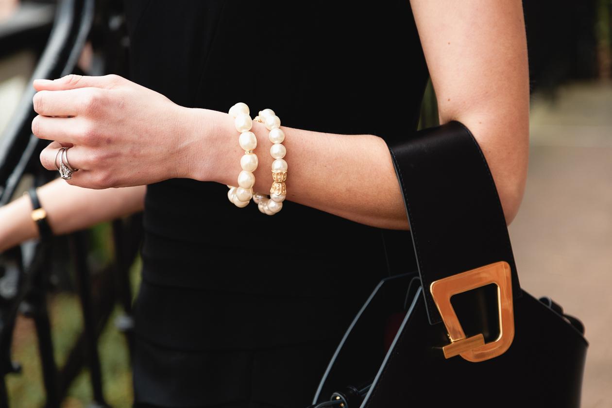 Queen Bee Designs jewelry and Danse Lente bag