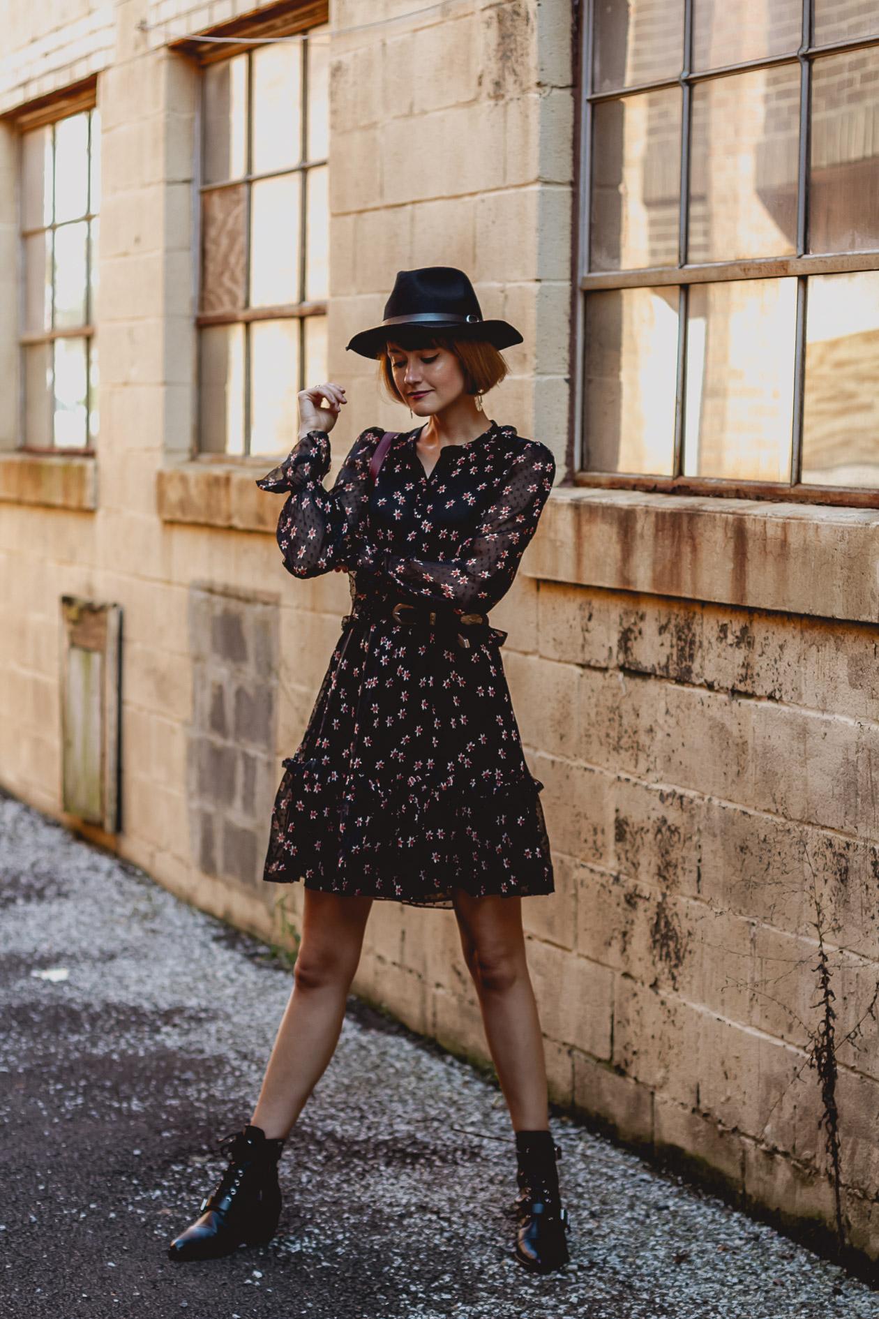 & Other Stories star print dress