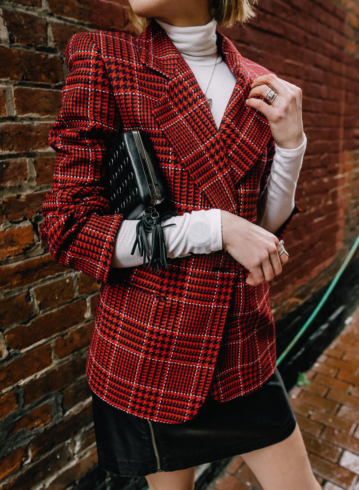 80s style blazer trend