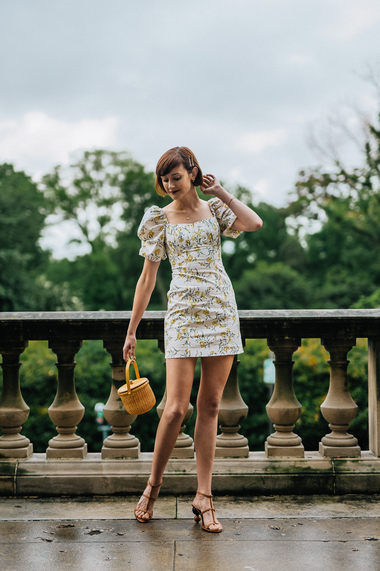 And Other Stories dress & Cult Gaia sandals