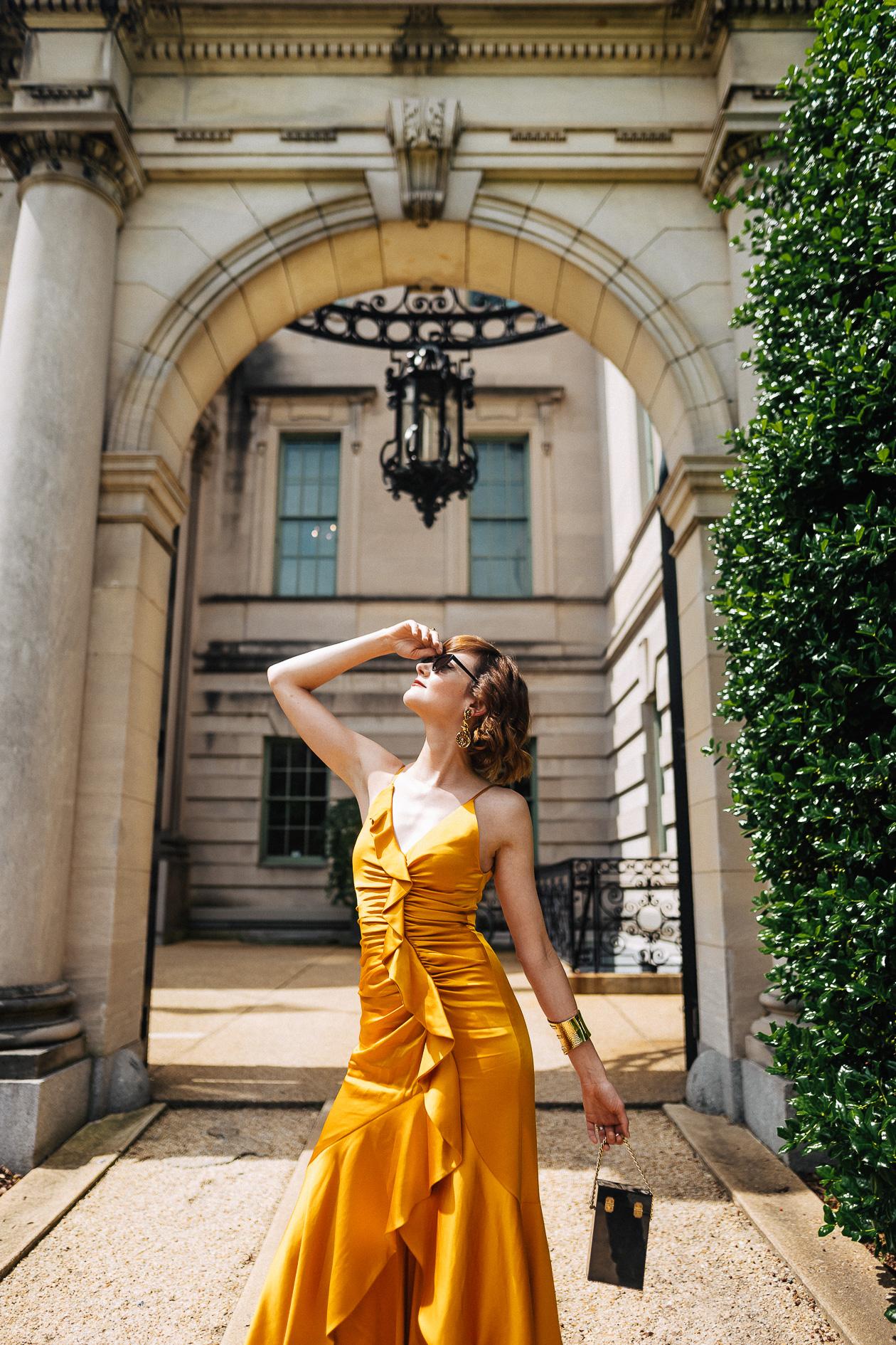 Jonathan Simkhai yellow dress