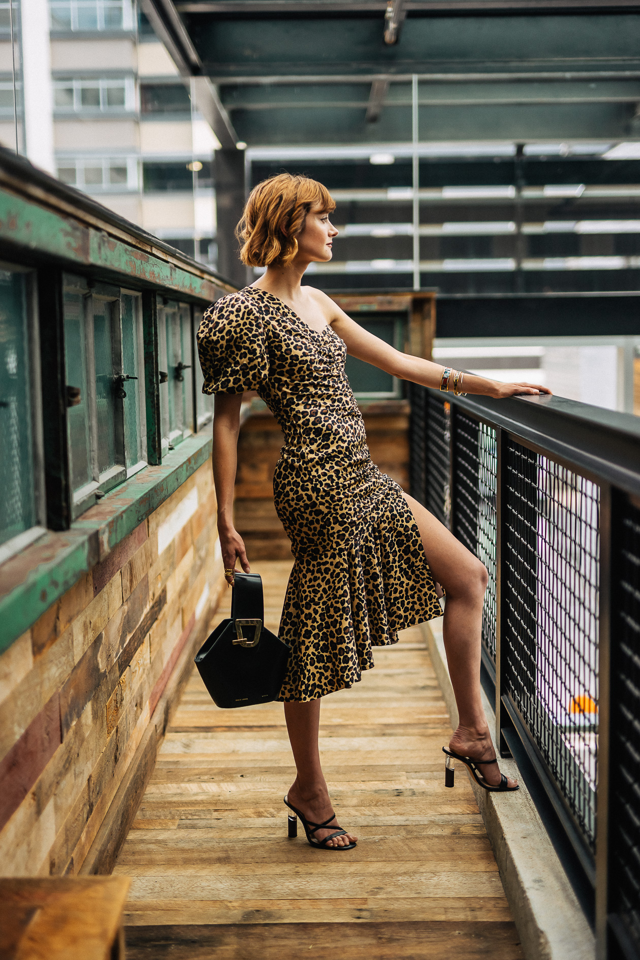 Jonathan Simkhai leopard dress